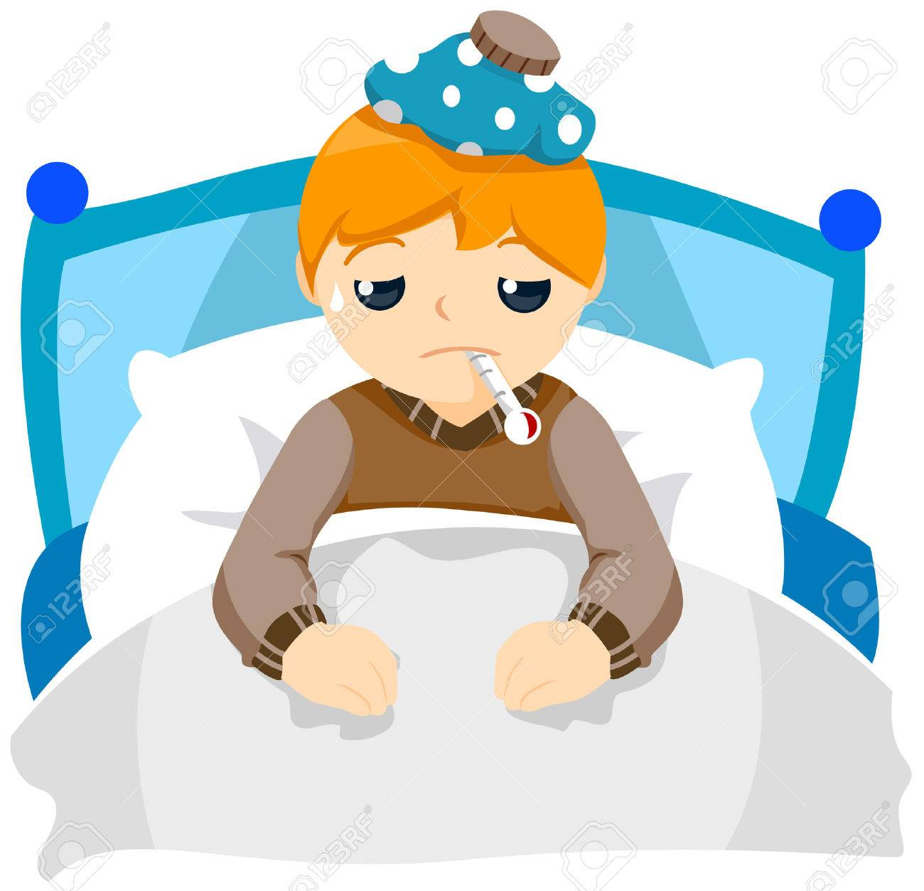 Clipart sick child 2 » Clipart Station.