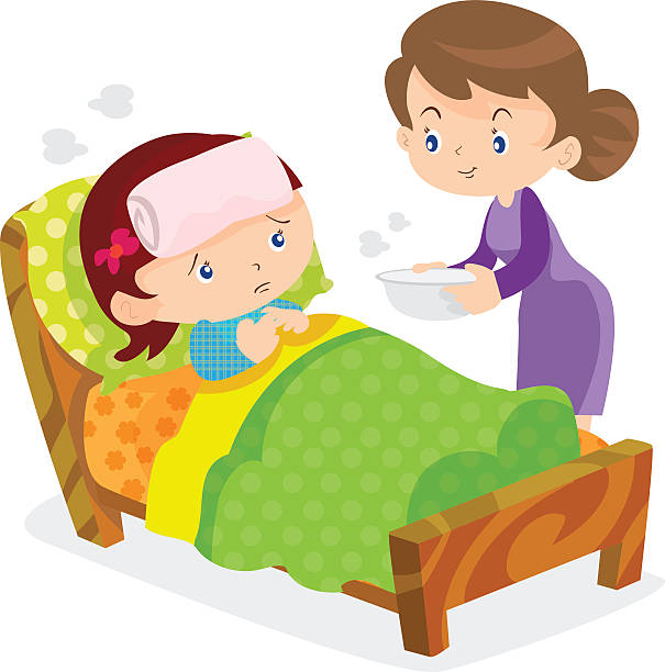 Sick child clipart 5 » Clipart Station.