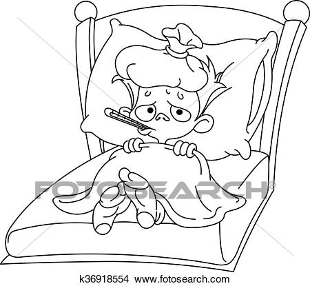Sick clipart black and white 8 » Clipart Station.