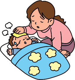 Sick Mother Clipart.