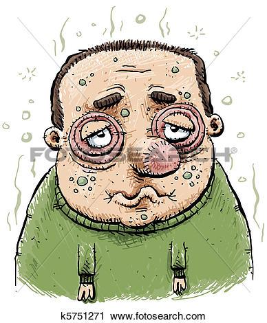Sick man Stock Illustrations. 4,735 sick man clip art images and.