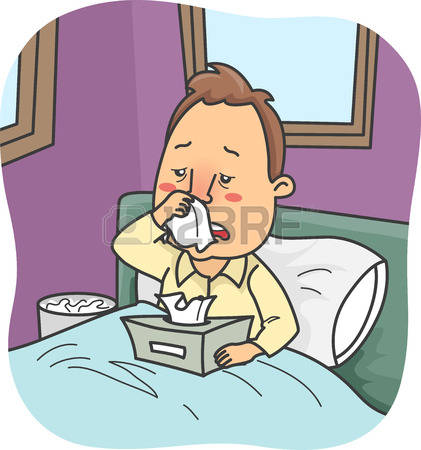 Sick Person In Bed Clipart Clipground