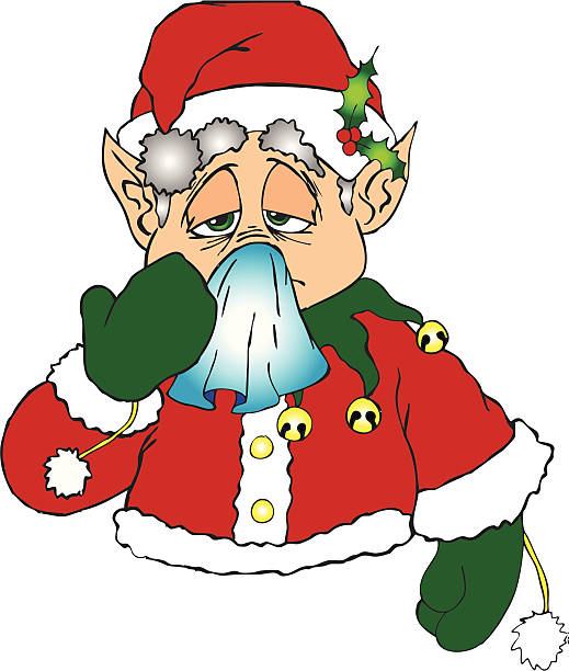 18955 Santa free clipart.