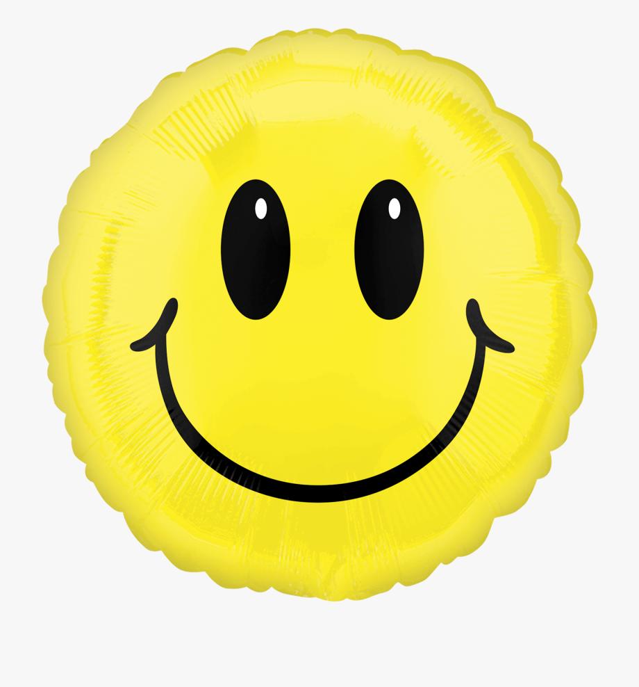 Smiley Face Balloon , Transparent Cartoon, Free Cliparts.