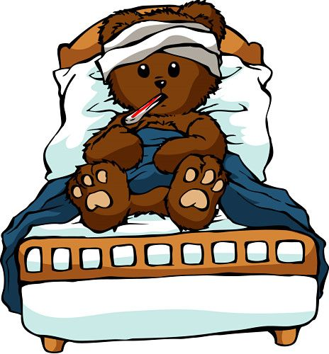 5380 Teddy Bear free clipart.