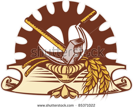 Woodcut Style Stock Photos, Royalty.
