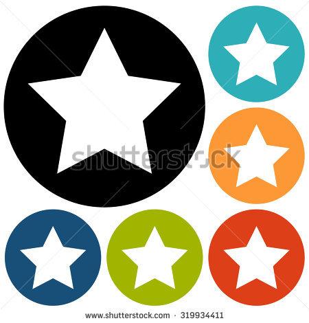 Star Vector Icon Set Stock Vector 228119728.