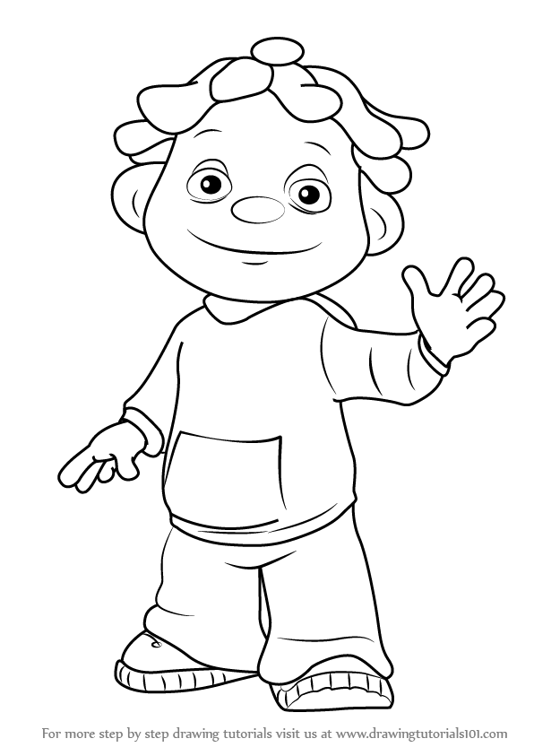 Sid The Science Kid Coloring Page.