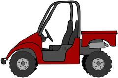 Side by side atv clipart.