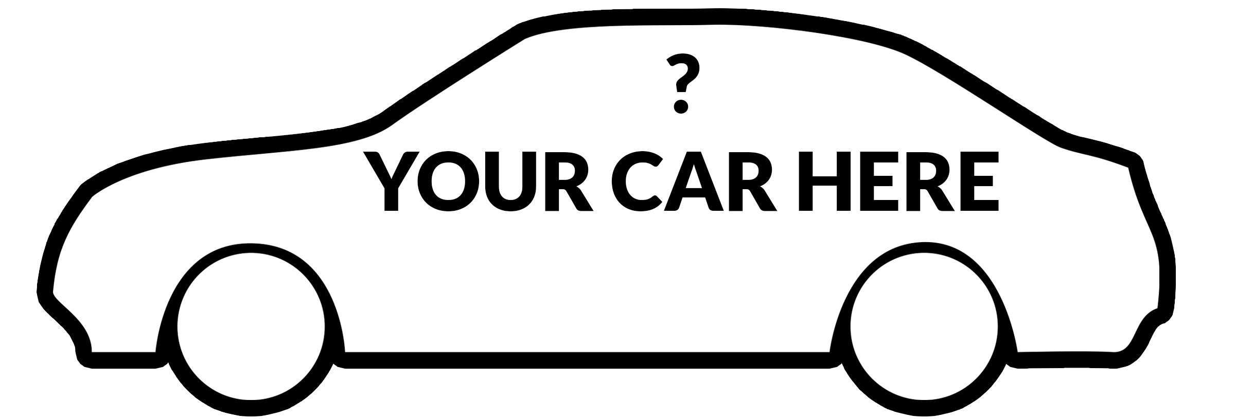 Car side png clipart.