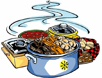 Thanksgiving Side Dishes Clipart.