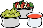 Side Dish Clip Art and Menu Graphics.