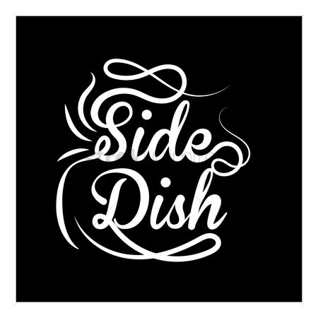 Free Side Dishes Stock Vectors.