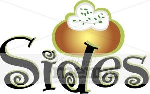 Food Sides Clipart.