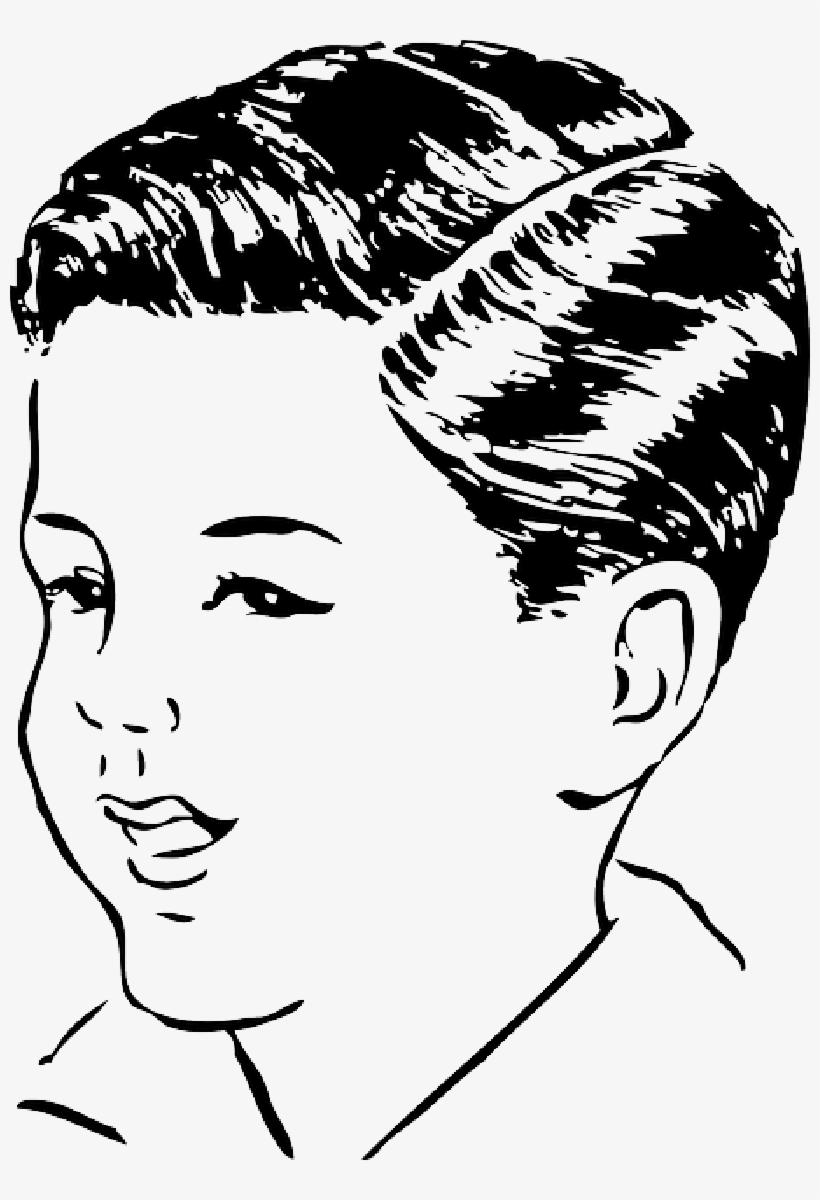 Part, Hair, Men, Medium, Side, Automatic, Haircut.