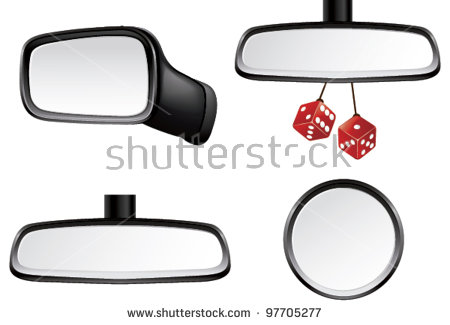 Car Side Mirror Stock Images, Royalty.