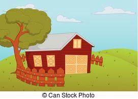 EPS Vectors of Farm House.