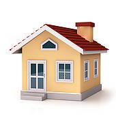 Stock Illustration of Mini House front k20000546.