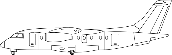 Plane Sideview Clip Art at Clker.com.