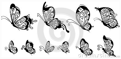 Butterfly Side View Clipart (37+).