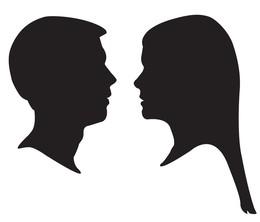 Download side profile silhouette clipart Silhouette Clip art.