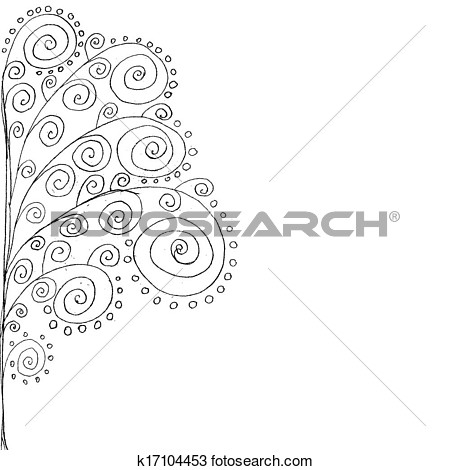 Side Tree Black Clipart.