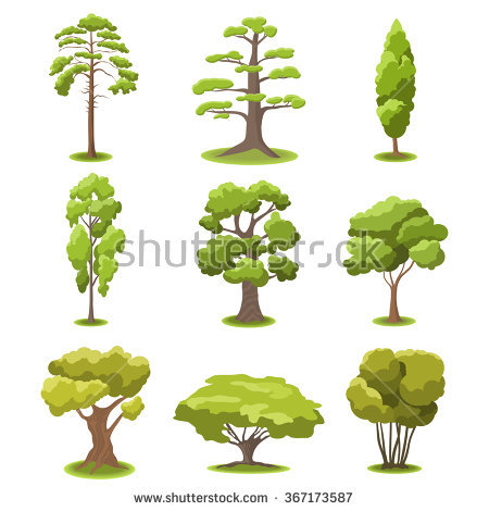 Summer Tree Stock Images, Royalty.