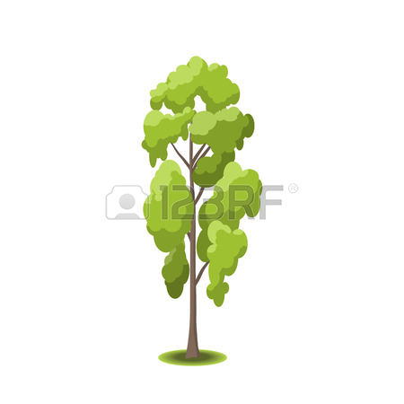 side tree lush clipart #10