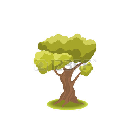 side tree lush clipart #17