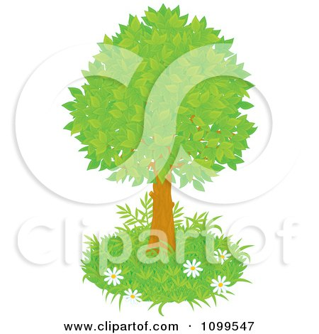 side tree lush clipart #15