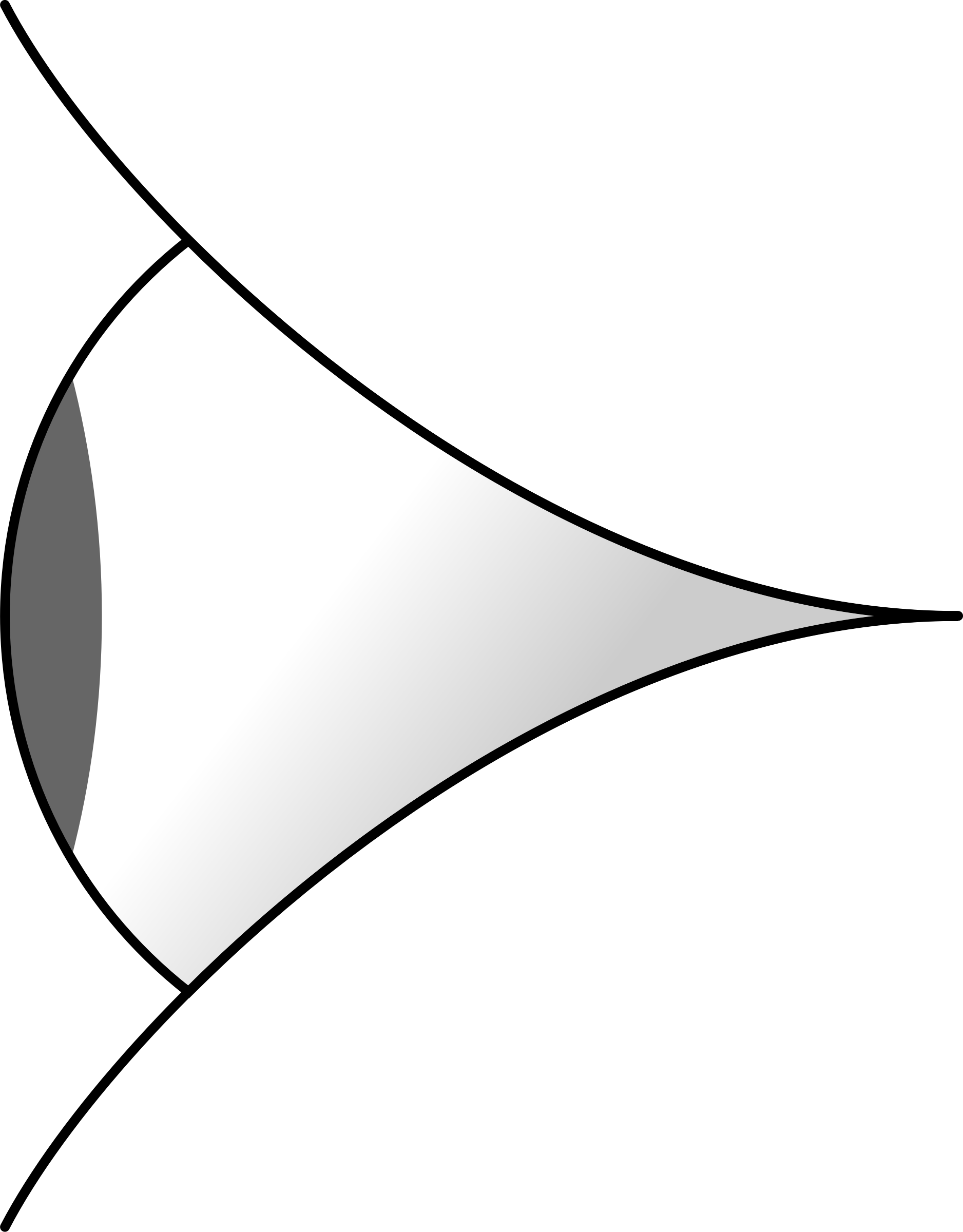 Side View Clipart.