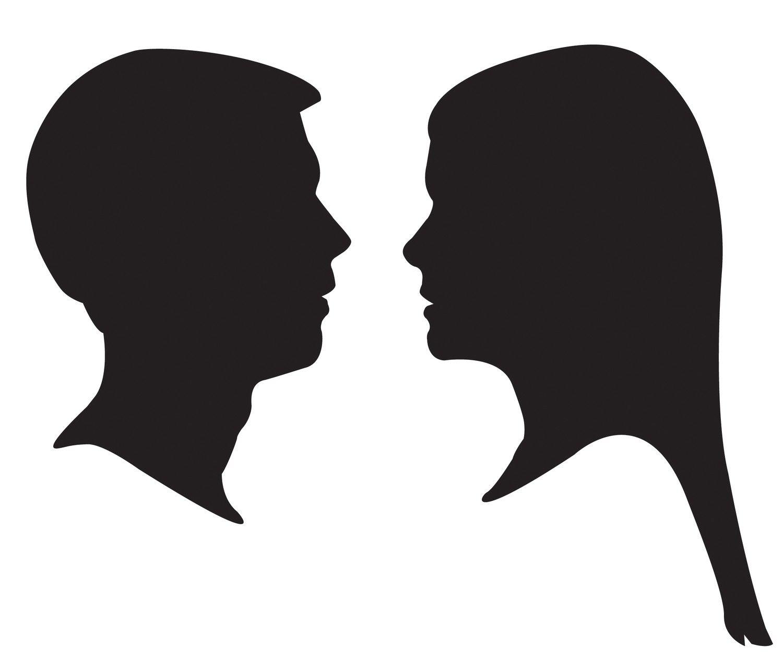 Head Profile Silhouette.