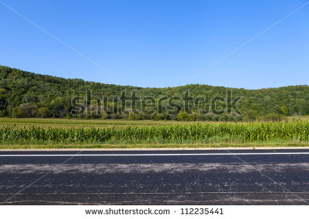 Country Road Stock Images, Royalty.