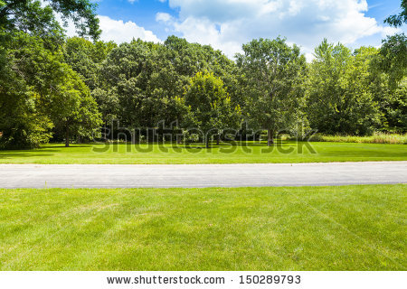 American Country Road Side View Stock Photo 141689041.