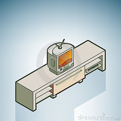Sideboard clipart.
