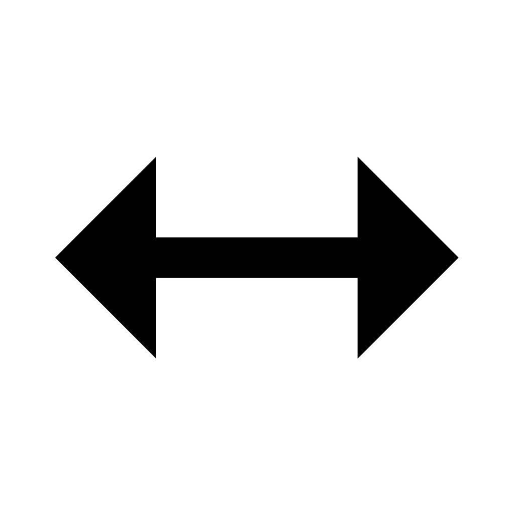 Double Sided Arrow Clip Art.