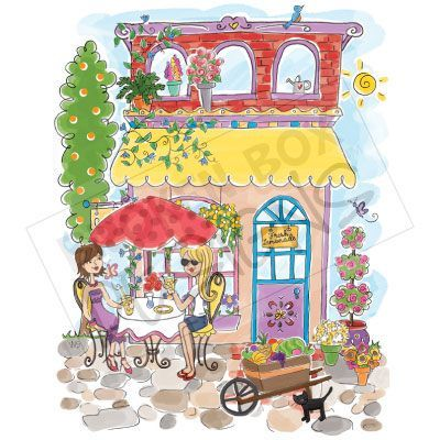 Cafe (Summer).