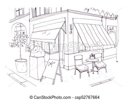 Sidewalk cafe Vector Clipart EPS Images. 351 Sidewalk cafe.