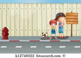 Sidewalk Clip Art and Illustration. 2,105 sidewalk clipart vector.