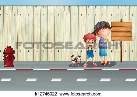 Sidewalk Clip Art and Illustration. 2,215 sidewalk clipart vector.