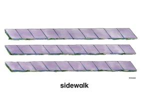 Sidewalk Clip Art.
