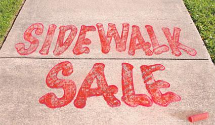 Sidewalk Sale Clip Art Free.