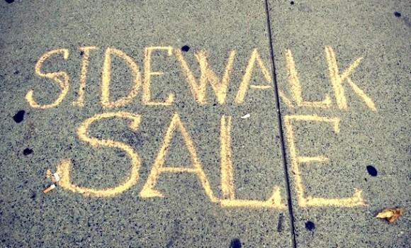 1st Anual Townwide Sidewalk Sale.