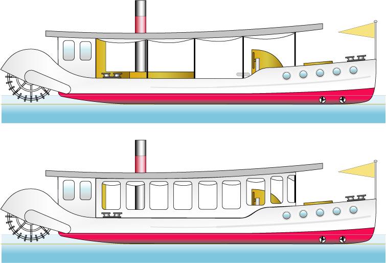Hull design.