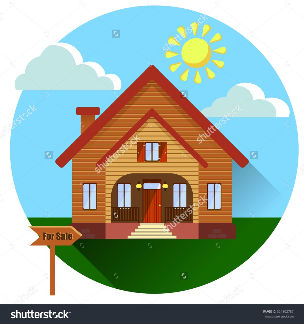 Siding house images clipart.