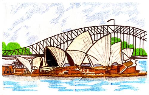 Clipart sydney opera house.