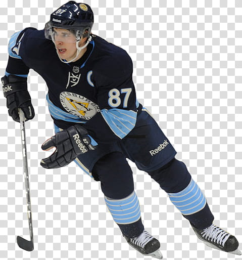 Sidney Crosby transparent background PNG clipart.