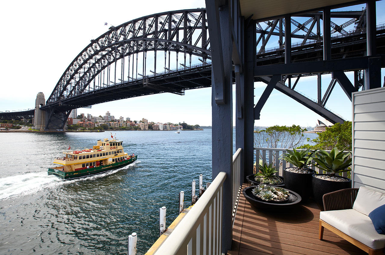 Sydney Harbour View Hotel Suite.