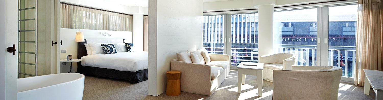 Sydney Harbour Views Hotel Suites.