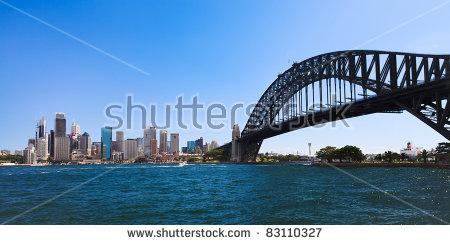Sydney Harbour Bridge Stock Photos, Royalty.